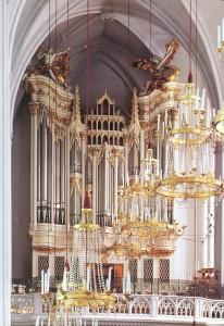 Blick zur Orgelempore der Augustinerkirche | © Augustiner Wien