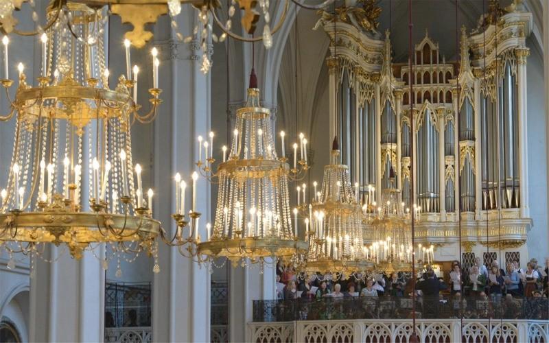 Blick auf die Chorempore | © Augustiner Wien | Foto: Franz Josef Rupprecht