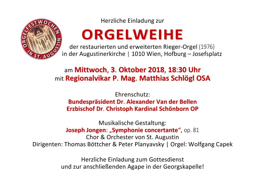 2018-10-03 Einladung Orgelweihe