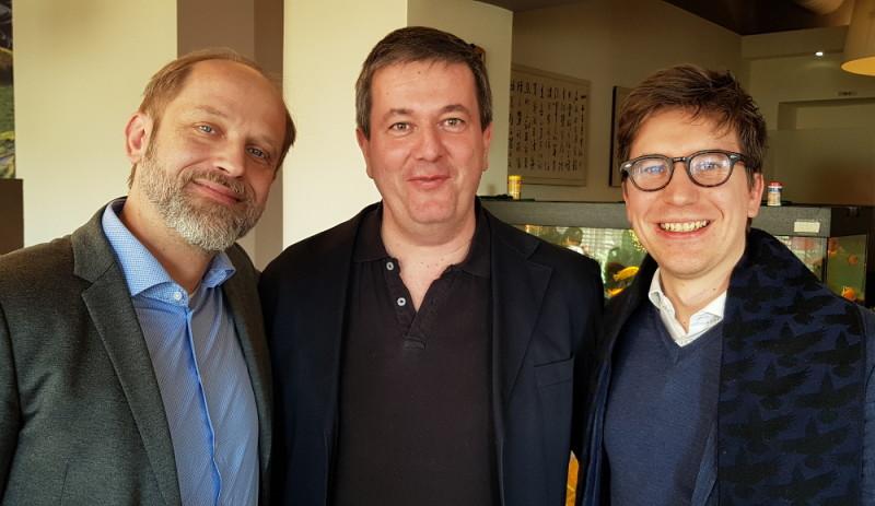 Gottfried Fragner, Thomas Böttcher, Michael Schneider
